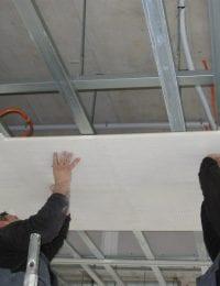 Installatie / Montage Variotherm klimaatplafond of koelplafond