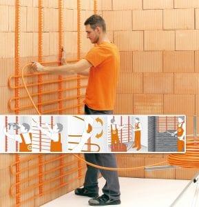 Variotherm wandverwarming aanleggen en installeren