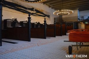 Restaurant Buitenplaats Amerongen - Vloerverwarming bovenop bestaande houten vloer
