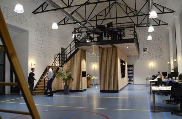Gezond binnenklimaat in het gezonde gebouw van adviesbureau merosch