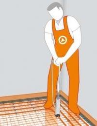 Installatiehandleiding Variotherm tackerplaat vloerverwarming