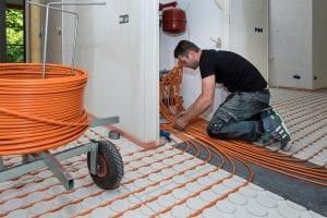 Variotherm Vloerverwarming verdeler aansluiten