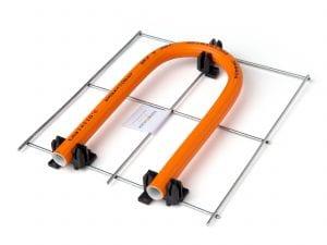 Variotherm draadstaal krimpnet vloerverwarming met clip