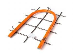 Variotherm draadstaal krimpnet vloerverwarming met snelstropper
