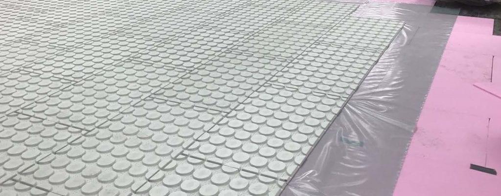 Variotherm droogbouw vloerverwarming isolatie