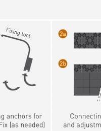 Noppenplaat vloerverwarming met of zonder isolatie