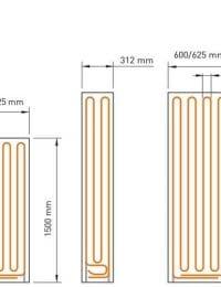 wandverwarming panelen