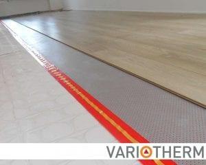 laminaat op lage opbouw vloerverwarming