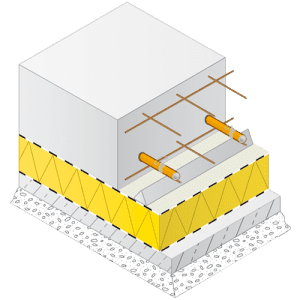 Variotherm vloerverwarming bedrijfshal of loods
